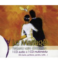LE MARIAGE Préparez votre célébration Coffret 1 CD audio + 1 CD multimédia