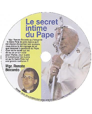 SECRET INTIME DU PAPE (LE )