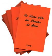 LIVRE D OR DES PAROLES DE DIEU (LE) LES 5 FASCICULES
