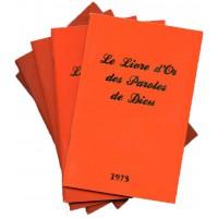 LIVRE D'OR DES PAROLES DE DIEU (LE) LES 4 FASCICULES