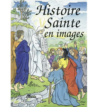 HISTOIRE SAINTE EN IMAGES (L') - ALBUM CARTONNE