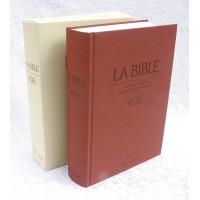 BIBLE TOB 17 X 24 reliure rigide à notes intégrales