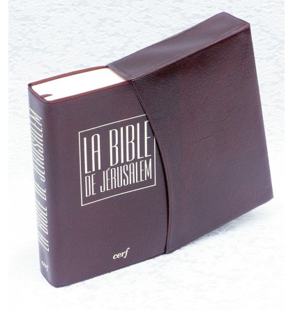 BIBLE DE JERUSALEM FT POCHE 9 X 13,5 CM VINYL