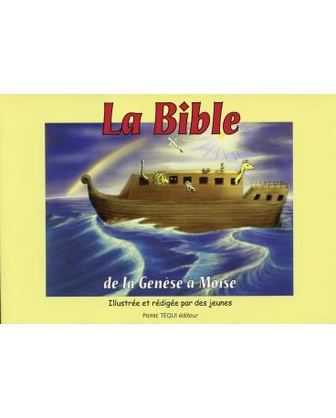 BIBLE (LA) - DE LA GENESE A MOISE + LIVRE DE COLORIAGE