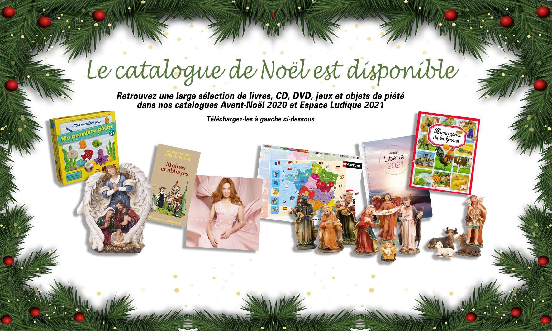 Découvrez nos catalogues de Noël